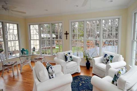 Adams-Project: Sunroom by Corbett Design Build