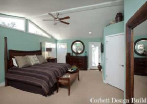Buckley Project : Bedroom after renovation by Corbett Design Build