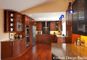 Buckley Project : Kitchen after renovation by Corbett Design Build