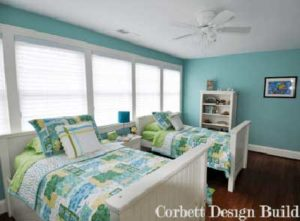 Goode Project 1 : Kids room  by Corbett Design Build