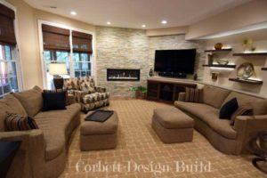 Kearns Project : Gathering room Renovation by Corbett Design Build