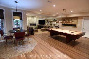 Kearns Project : Living space Renovation by Corbett Design Build