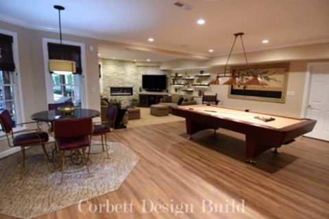 Kearns Project : Living space by Corbett Design Build
