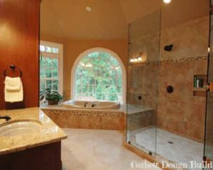 Moore Project : Bathroom Renovation by Corbett Design Build