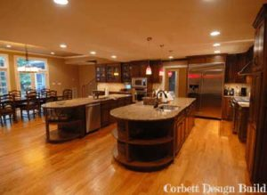 Moore Project : Kitchen After Renovation by Corbett Design Build