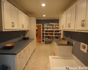 Moore Project : Laundry Room  Renovation by Corbett Design Build