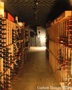 Moore Project : Wine Celler  Renovation by Corbett Design Build