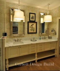Wake Project : Bathroom sink Renovation by Corbett Design Build