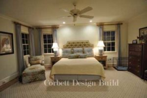 Wake Project : Bedroom  Renovation by Corbett Design Build