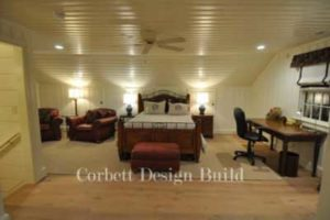 Wake Project : Upstairs bedroom  Renovation by Corbett Design Build