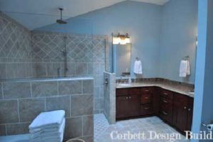 White Project : Bathroom Renovation by Corbett Design Build
