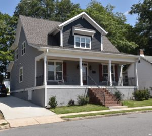 Downtown Raleigh Custom Craftsman Style Home