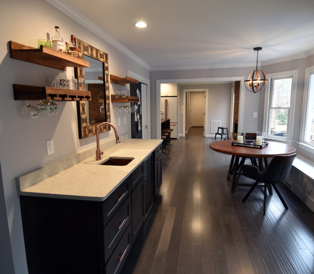 N Raleigh Project: Rustic Modern Kitchen