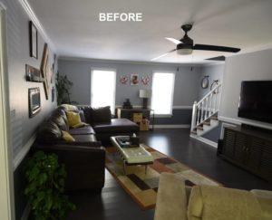 Rustic Modern Living Room Remodel by Corbett Design Build