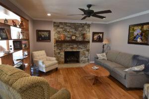Family Room Renovation by Corbett Design Build